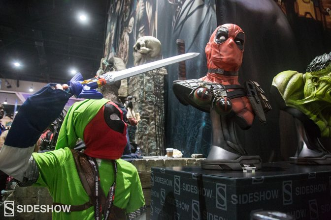 Take a Look at the Cool Cosplay Seen Around the Sideshow Comic-Con Booth