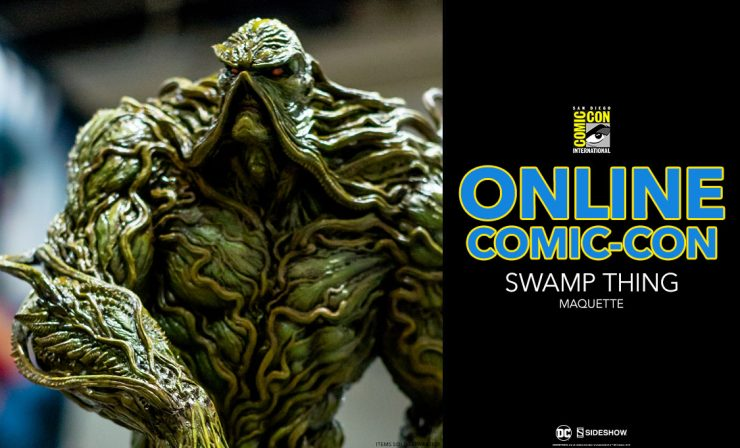 Swamp-Thing Maquette