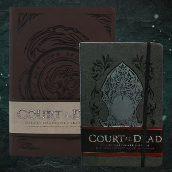 Court of the Dead Journal and Sketchbook