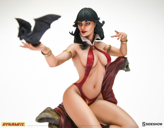 Paint the Town Red: Vampirella Behind the Scenes