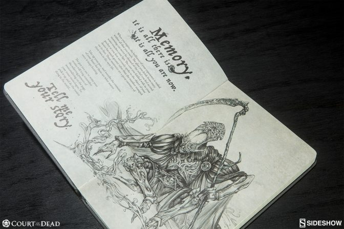 Court of the Dead Journal
