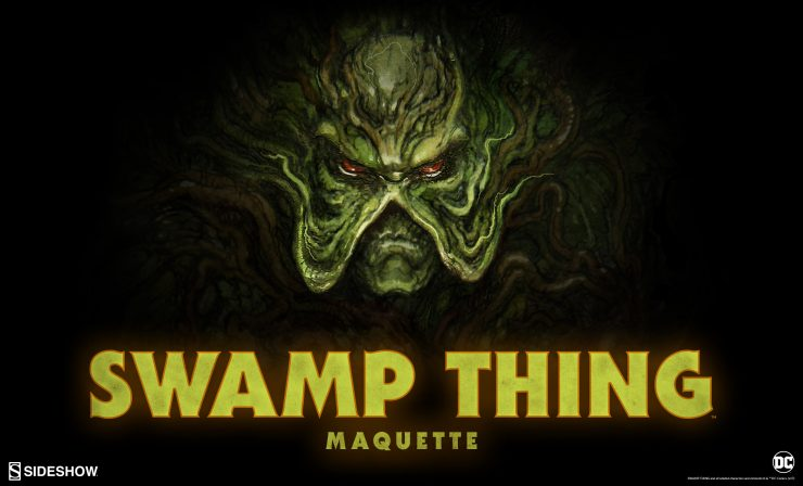 Swamp Thing Maquette Announcement