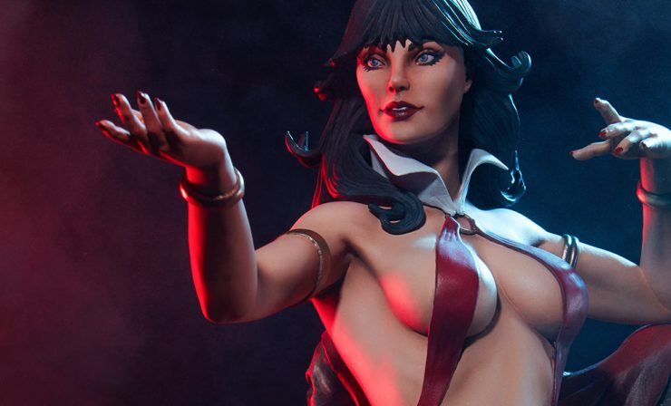Behind the Screams- Talking Vampirella with Terry Dodson