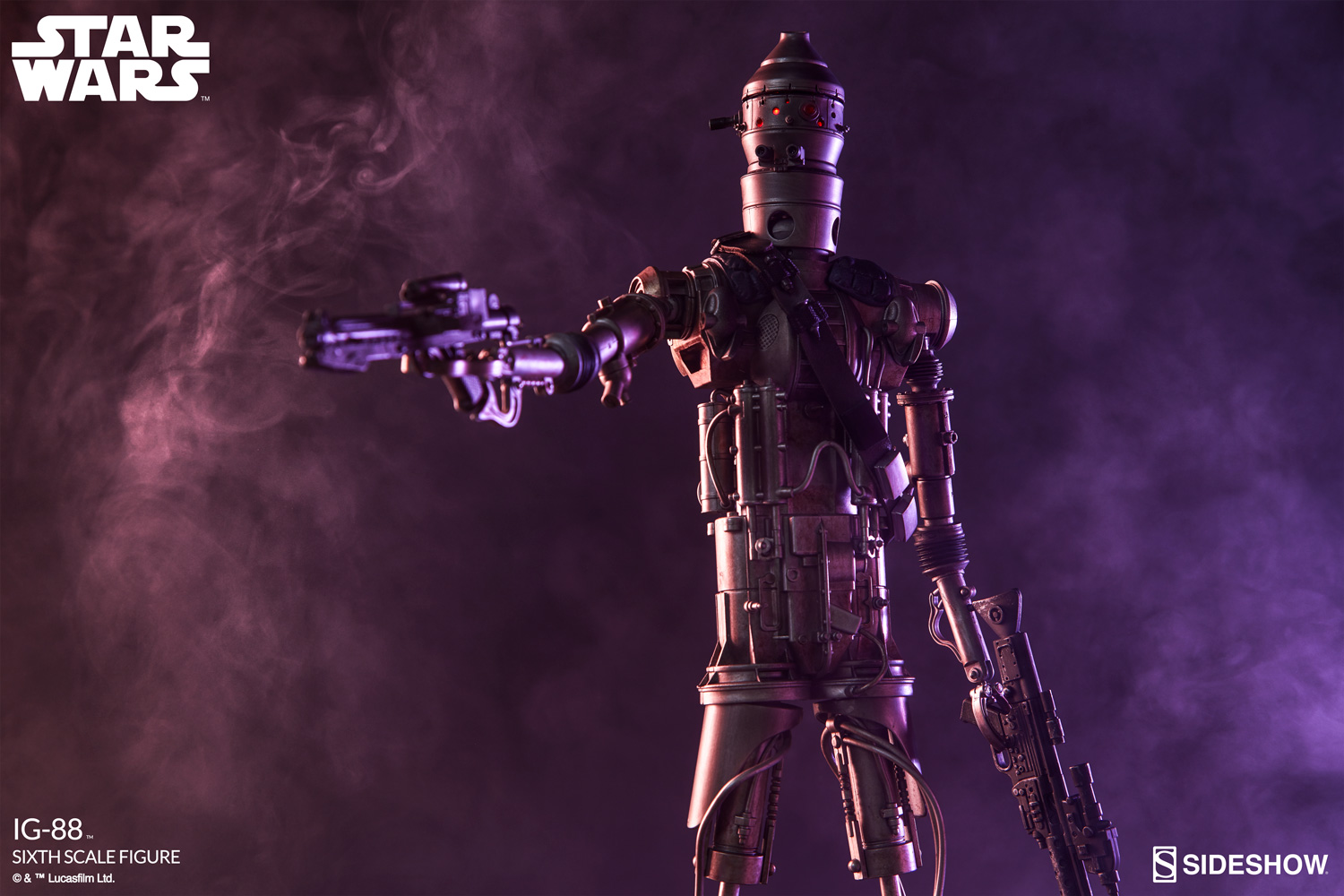osw.zone Collect your Bounty on these IG-88 Sixth Scale Figure Gallery Updates!