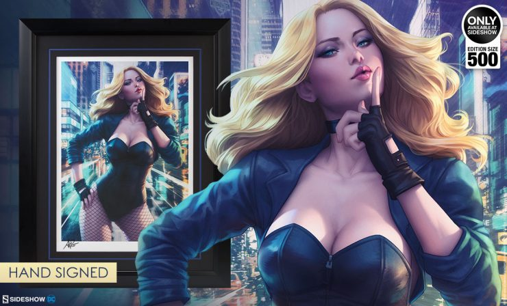 Black Canary Premium Art Print