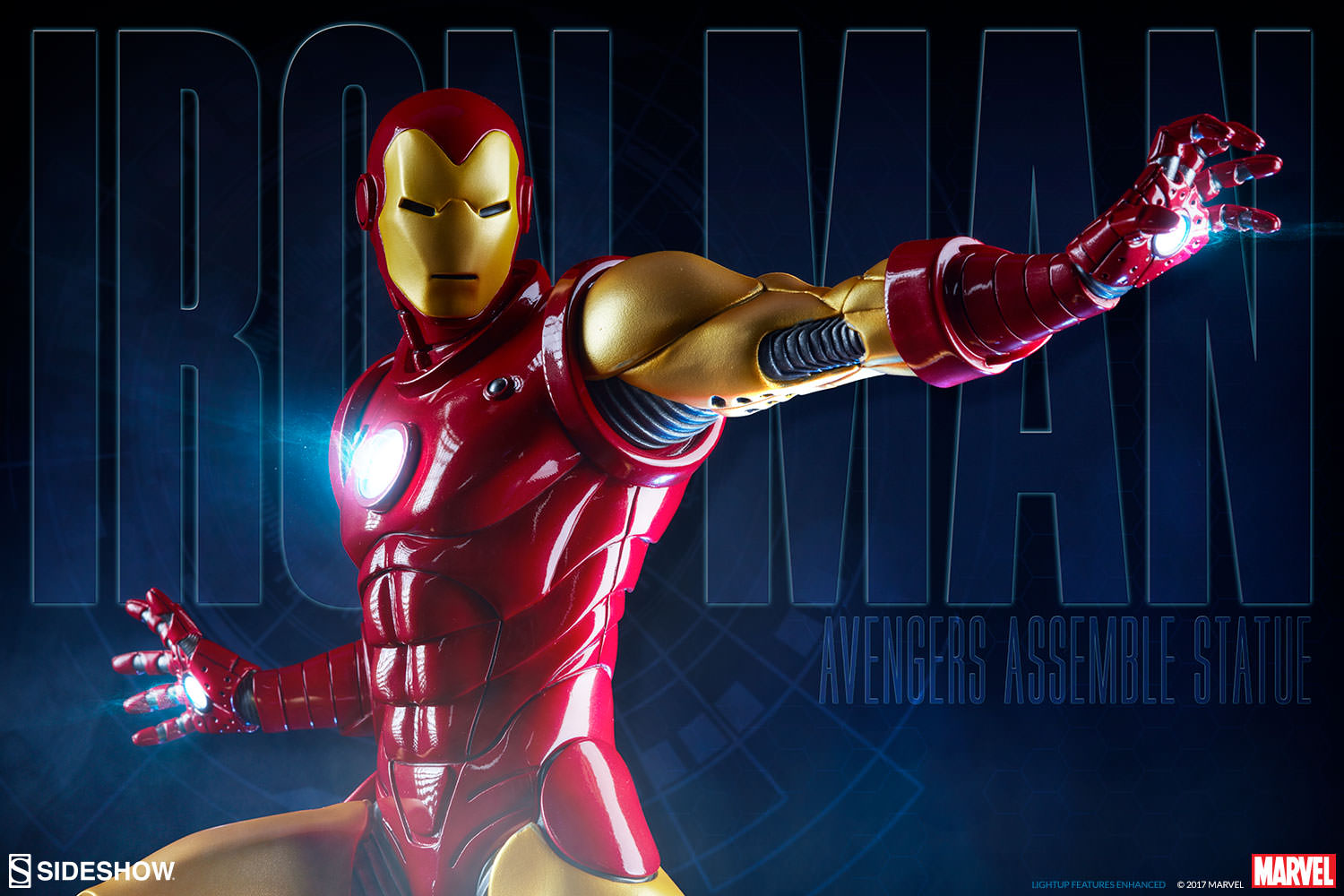 osw.zone Assembling a Production Gallery Update for the Iron Man Statue