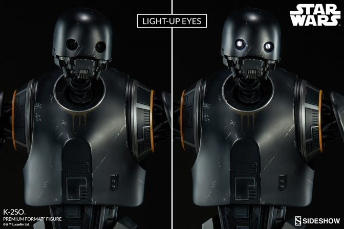 Congratulations, You are Being Rescued by the K-2SO™ Premium Format™ Figure