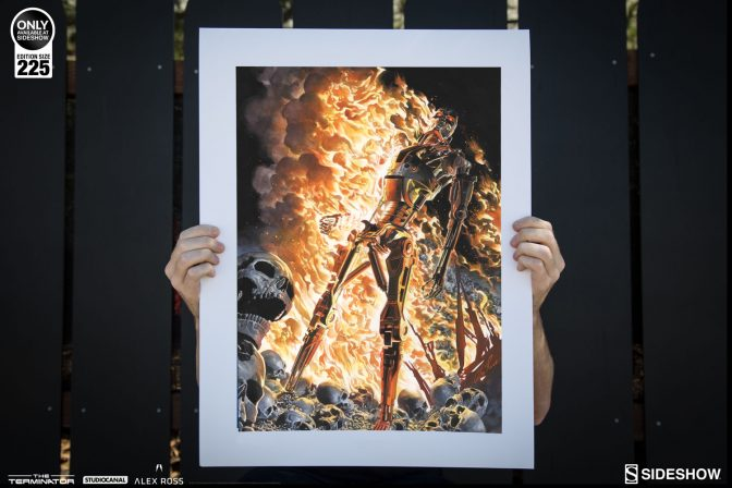 Terminator: The Burning Earth Lithograph by Alex Ross
