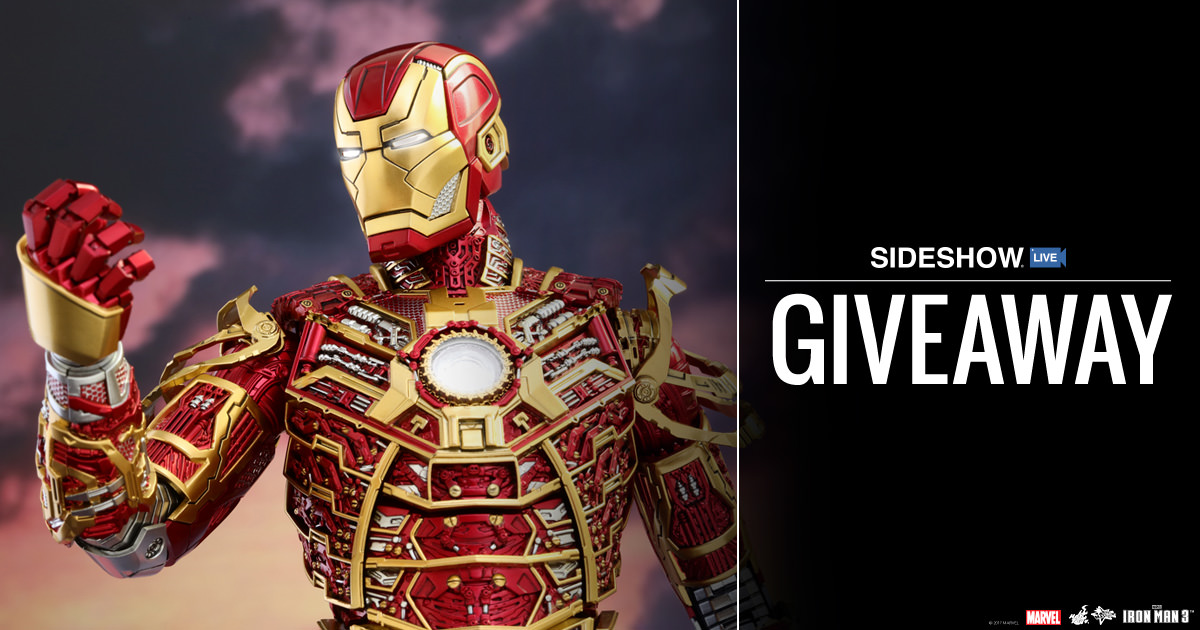 Sideshow Live Iron Man Mark XLI – Bones Retro Armor Figure Giveaway