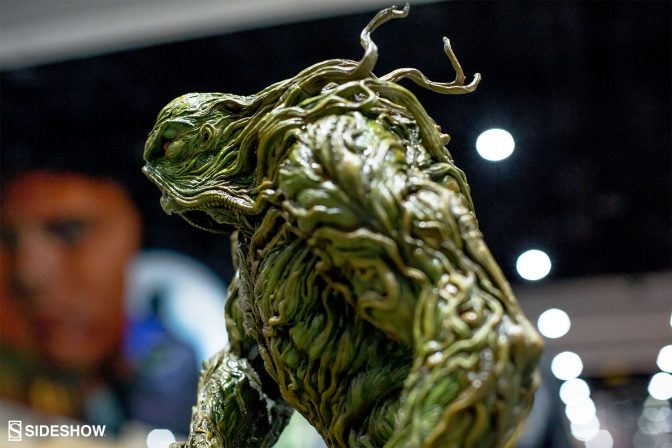 Going Green- Who is Swamp Thing?