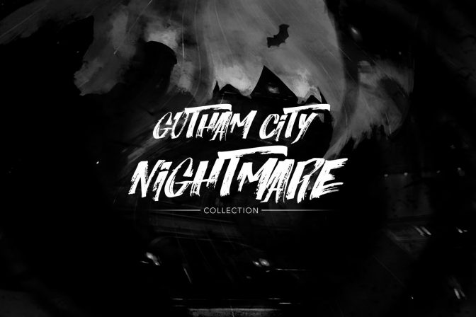 No Joke!  We Have an Inside Look at the Gotham City Nightmare Collection.