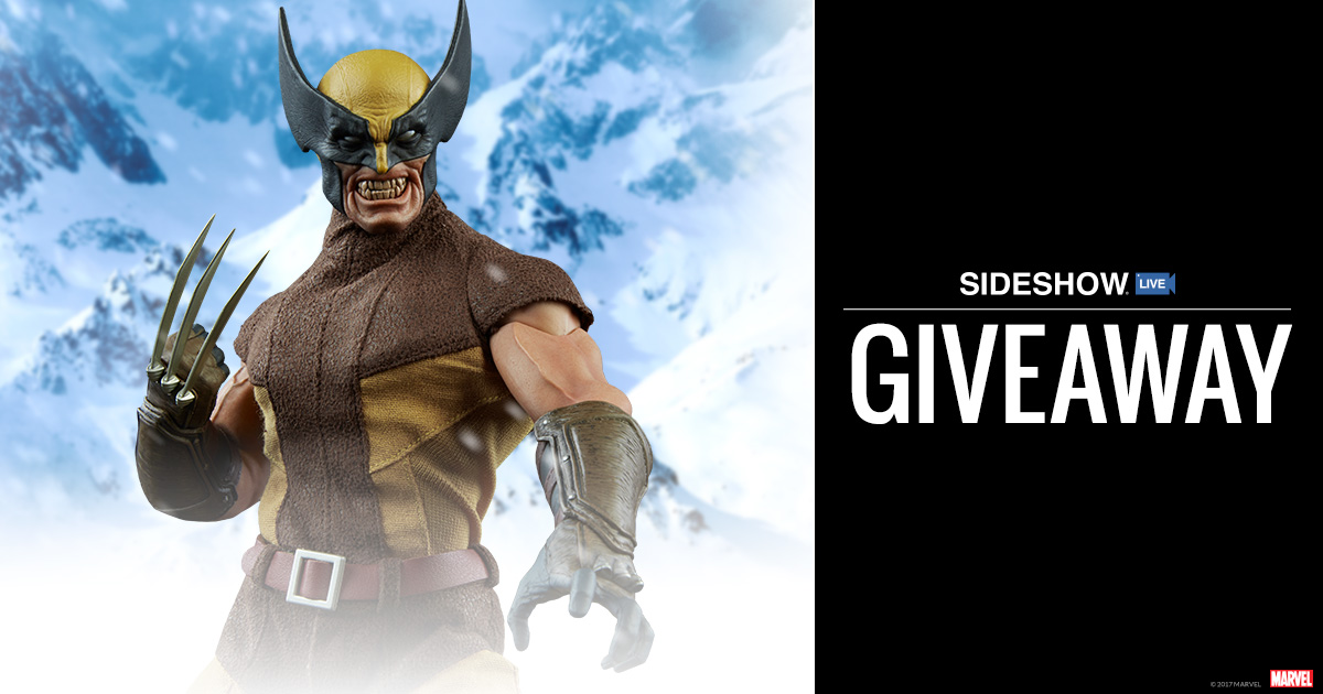 Sideshow Live Wolverine Sixth Scale Figure Giveaway