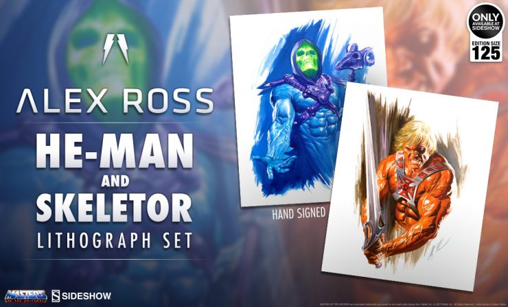 Alex Ross He-Man and Skeletor Lithograph Set