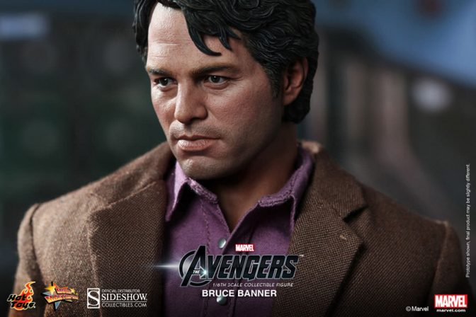 Bruce Banner and Hulk Hot Toys