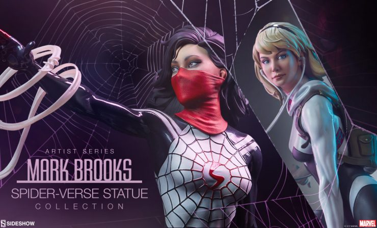 New Mark Brooks Spider-Verse Statue Collection Swings into NYCC 2017