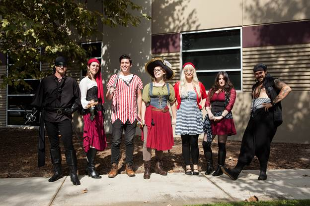 Talk Like a Pirate Day 2017 at Sideshow Brings out the Scallywags!