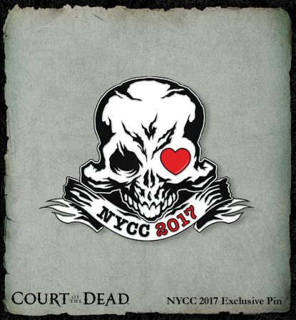 Here's How to Get the NYCC 2017 Exclusive Court of the Dead Pin