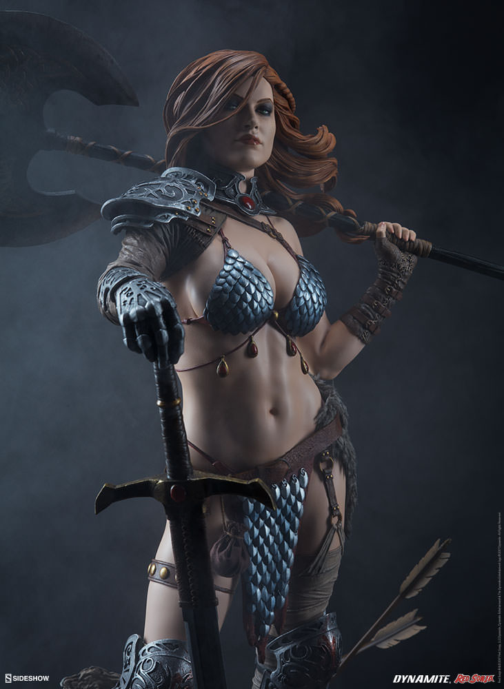 The Red Sonja Premium Format Figure Has An Axe To Grind