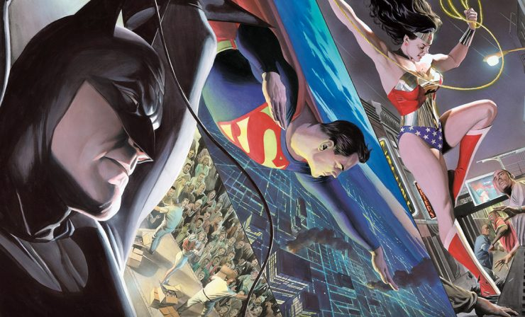Alex Ross Liberty and Justice: Trinity Fine Art Lithograph