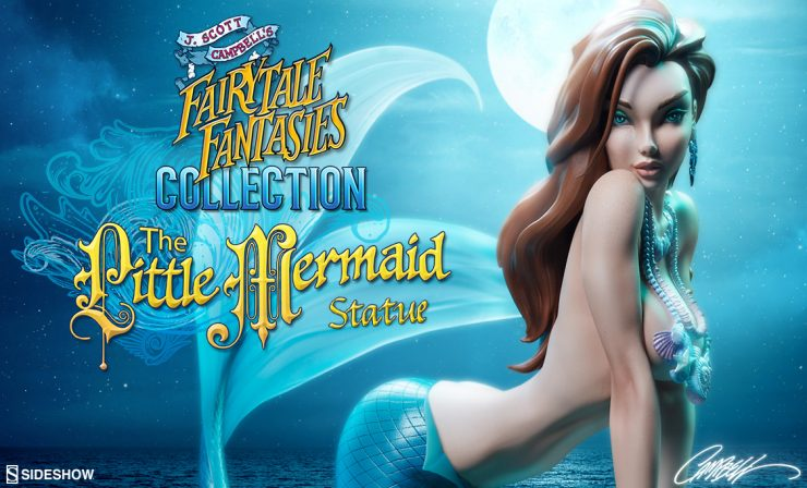 The Little Mermaid Statue – J. Scott Campbell Fairytale Fantasies Collection
