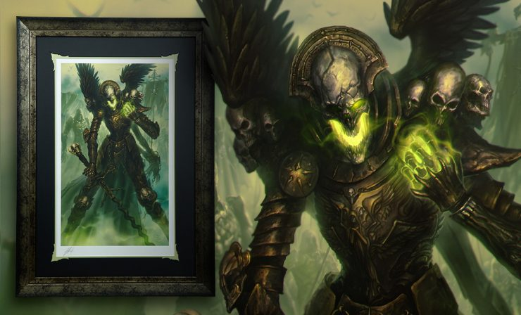 Mortighull: Soldier of Cruel Purpose Premium Art Print