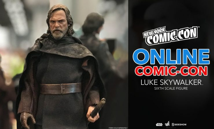 Luke Skywalker Sixth Scale Figure – Star Wars: The Last Jedi – Hot Toys