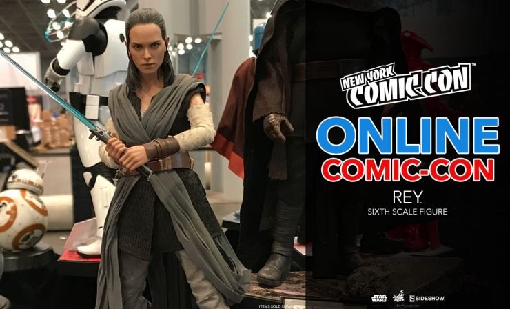Rey Sixth Scale Figure – Star Wars: The Last Jedi – Hot Toys