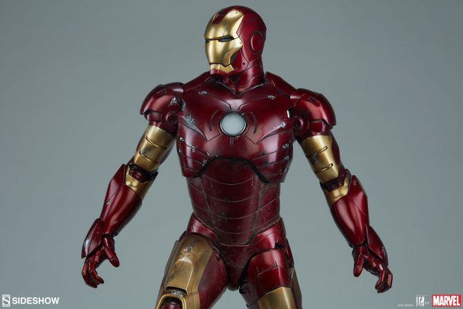 Suit Up Your Collection with the Iron Man Mark III Maquette