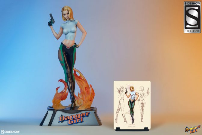 Abbey Chase Premium Format™ Figure- Are You Ready for Danger?