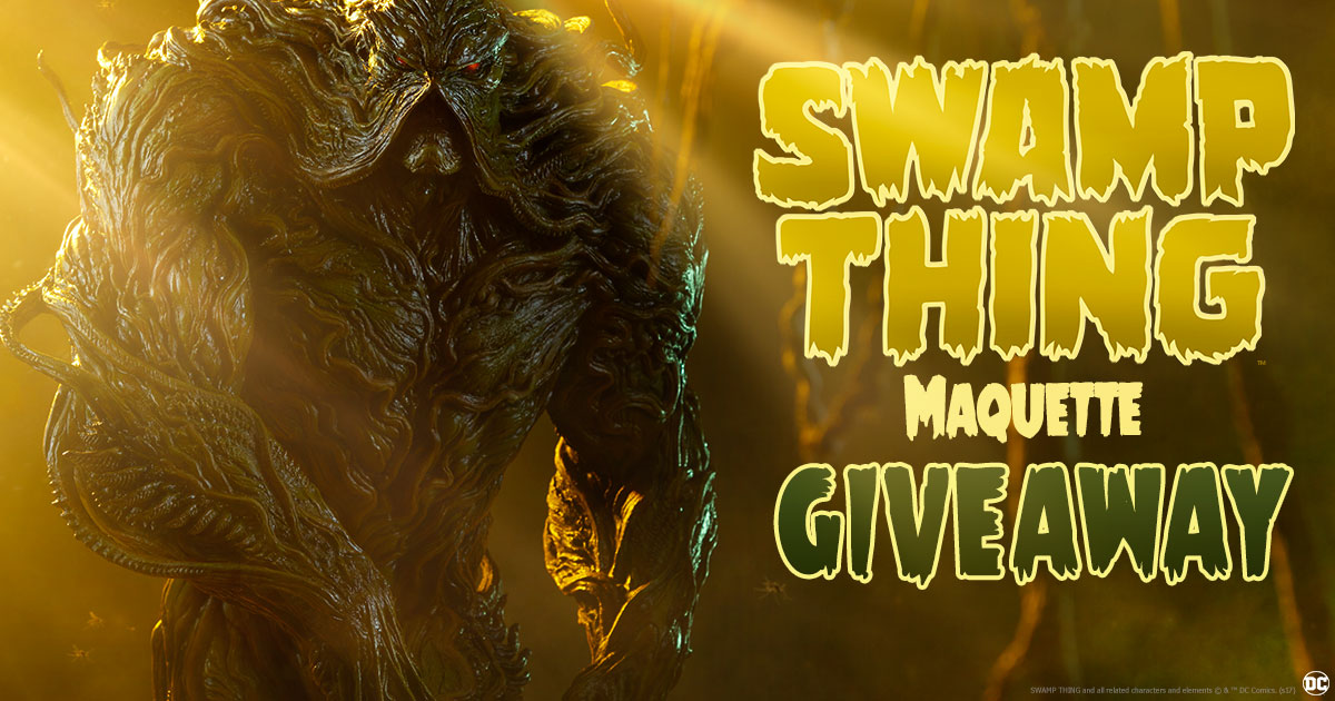 Swamp Thing Maquette Giveaway