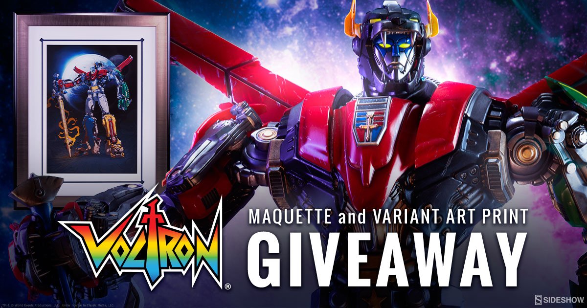 Voltron Prize Pack Giveaway