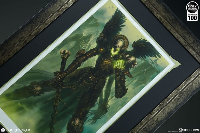 Witness the Strength of the Mortighull: Soldier of Cruel Purpose Premium Art Print