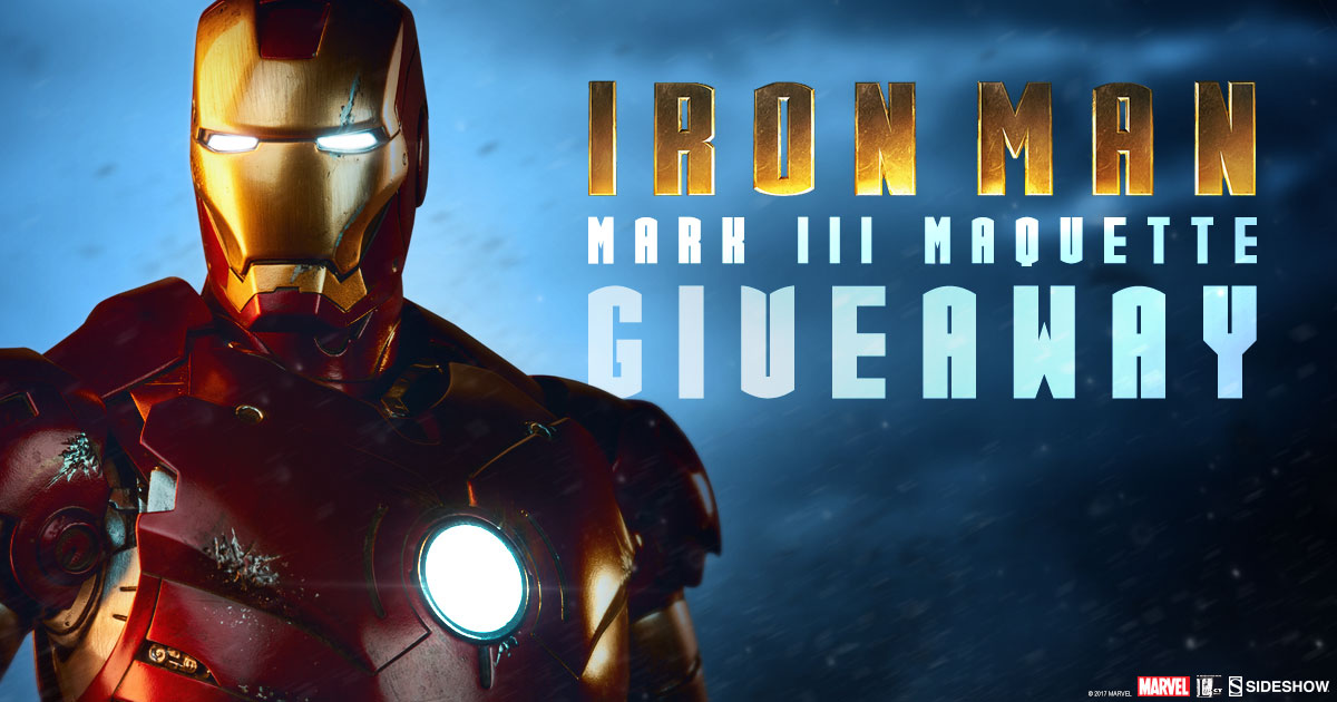 Iron Man III Maquette Giveaway