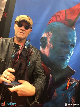 Michael Rooker Rolls with the Ravagers at NYCC 2017