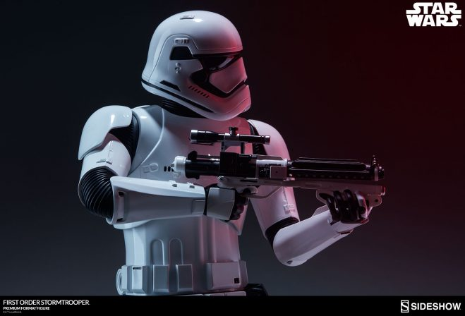 The First Order Stormtrooper Arrives to Crush the Resistance