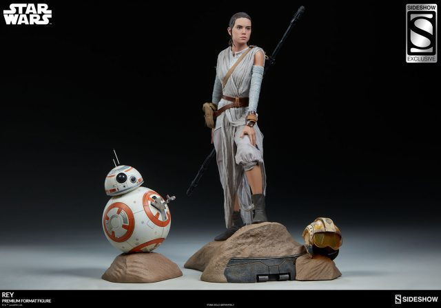New Photos of the Rey Premium Format™ Figure!