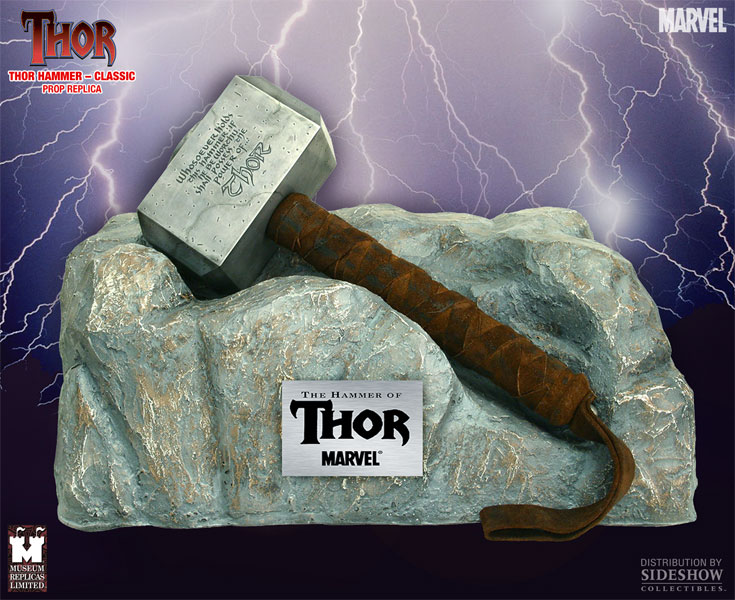 thorsday the many mjolnirs of the thor mythos sideshow
