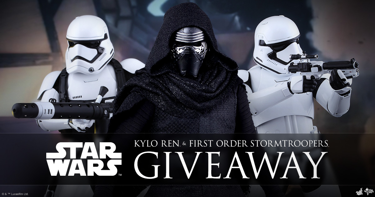 December 2017 Sideshow Newsletter Giveaway