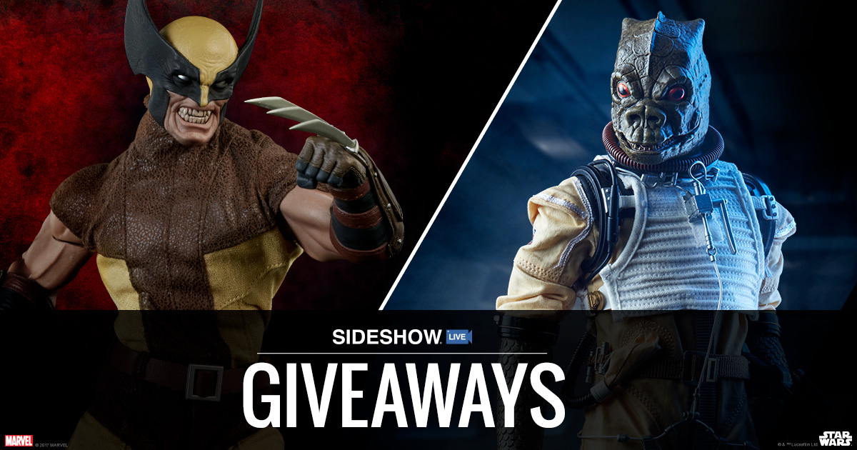 Sideshow Live Bossk and Wolverine Sixth Scale Figures Giveaway