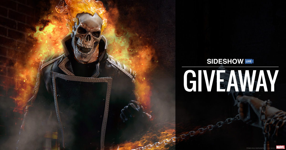 Sideshow Live Ghost Rider Figure Giveaway
