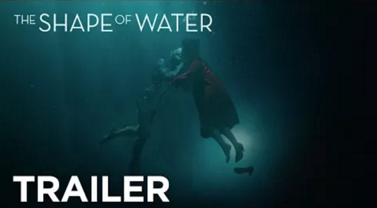 Final Trailer for The Shape of Water Teases Eerie Secrets and Forbidden Romance
