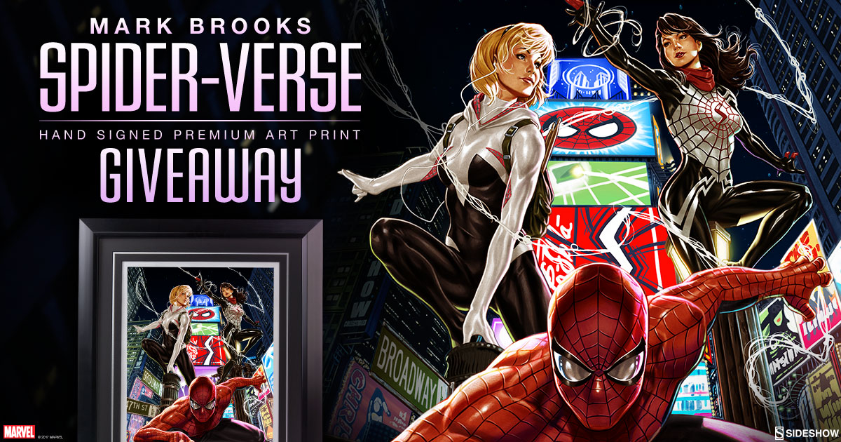 Mark Books Spider-Verse Art Print Giveaway