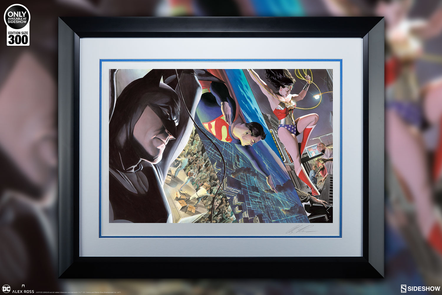 Take Home the Trinity with this Alex Ross Liberty and Justice ...