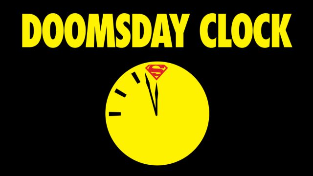 DC Doomsday Clock Series Begins