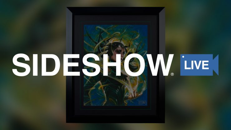 Sideshow Live- Special Guest Olivia De Berardinis Visits to Talk About Hela: Goddess of Death