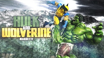Hulk and Wolverine Clash in this Exciting Maquette Spotlight