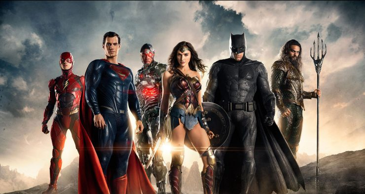 Justice League Arrives in Theaters