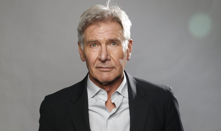 Harrison Ford Helps a Woman on the Highway