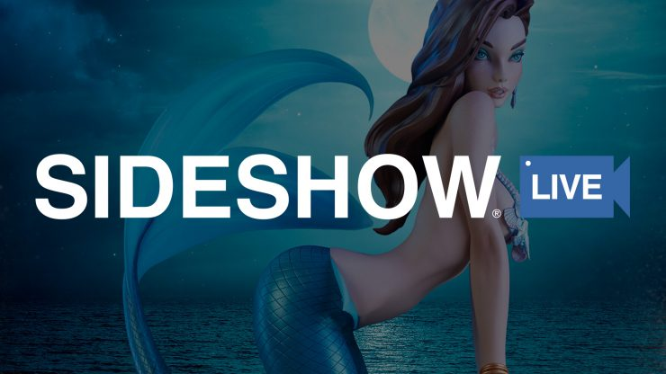 'Sea' The Little Mermaid Statue on Sideshow Live with Art Director David Igo!
