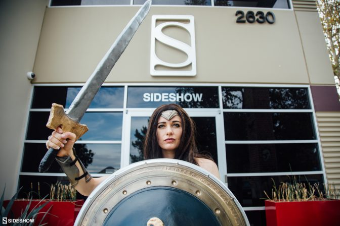 Sideshow Staff Brings Some Wonder to the Workplace with Wonder Woman Photoshoot